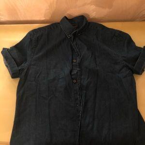 73c43f1956 H M Shirts - Hm denim button down